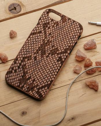 деревянный чехол на айфон 6