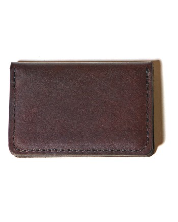 cardholder bi-fold  brown 2