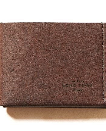 folding wallet 2c brown 1